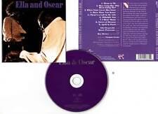 """ELLA FITZGERALD - OSCAR PETERSON """"Ella And Oscar"""" (CD) 1976-2001"""