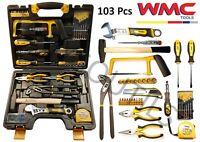 Boite à outils coffret complet d'outils pour travaux de bricolage 103 pièces WMC