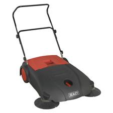 More details for fsw80 sealey floor sweeper 800mm [janitorial] sweepers, floor floor sweepers