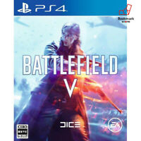 NEW PS4 Battlefield V Japanese ver PlayStation 4 Sony import Japan F/S Tracking
