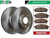 FOR NISSAN XTRAIL X-TRAIL FRONT VENTED BRAKE DISCS 280mm MINTEX PADS