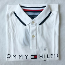 Tommy Hilfiger Men's Classic Fit Polo Shirt, Short Sleeve Polo Shirt