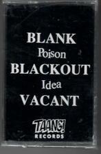 POISON IDEA - Blank, Blackout, Vacant (CASSETTE TAPE) Hardcore Punk NEW & SEALED