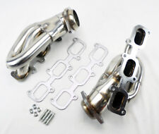 Stainless Exhaust Manifold Headers Shorty Fits Ford Mustang 2011-2017 3.7L V6