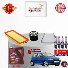 Kit Inspección Filtros Aceite Bujías Fiat Punto II 1.2 8V 44KW 60CV De 2002- >