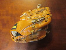 """Wilson A2480 9 1/2"""" Split Hinge T Ball Glove Right Hand Throw left leather"""