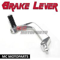Silver CNC Billet rear brake pedal lever For Ducati 848 1098 1198 S R