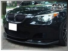 HM Style Carbon Fiber Front Bumper Under Lip Spoiler for 04-10 BMW E60 E61 M5
