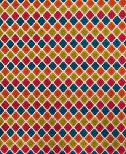 Evoque Candy Domino Retro Vintage Mod Sofa Upholstery Fabric Chenille Drapery