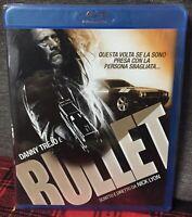 BULLET Blu Ray Nuovo Sigillato Danny Trejo Nick Lyon Come da Foto N