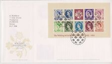 TALLENTS PMK GB ROYAL MAIL FDC 2003 WILDING DEFINITIVES STAMP MINIATURE SHEET