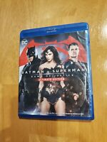 Batman v Superman: Dawn of Justice Ultimate Edition Bluray + DVD no digital DC