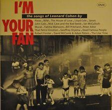 I'M YOUR FAN the songs of LEONARD COHEN 2 Vinyl LP Pixies Nick Cave REM Jon Cale