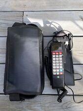 Vintage Sprint Motorola Car Phone In Leather Case SCN2500A