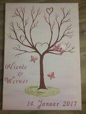 Weddingtree/Fingerabdruck/Hochzeitsbaum (50x70cm) in Ihrer Wunschfarbe