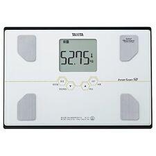 TANITA Personal Digital Body Scale fat calculator Bathroom BC-313-WH White.