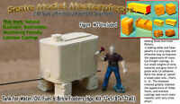Scale Model Masterpieces/Yorke Elevated Tank Oil/Fuel & Brick Footers Kit HO
