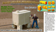 Elevated Tank Oil/Fuel & Brick Footers Kit Scale Model Masterpieces Yorke HOn3