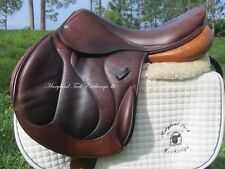 """18.5"""" DEVOUCOUX CHIBERTA CALF French cross country jumping saddle-2008 model"""