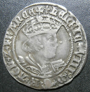 UK hammered groat Henry VIII - mm Lis (105) - 25.2mm wide believed to be S.2337E