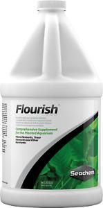 Seachem Flourish 2L Live Aquatic Plant Food Nutrient Fertilizer Micro Trace