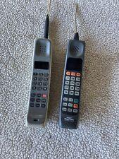 2 Vintage Motorola Brick Phones