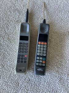 2 Vintage Motorola Brick Phones