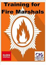 Fire Marshal Health & Safety online computer based E-learning ROSPA