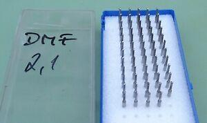 59 VHM MPK KEMMER Schaftfräser Ø 2,1 mm Vollhartmetall Mikro Fräser Micro CNC HM