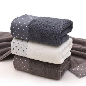 1 pc Soft  Cotton Bath Towel Set Plush Towels Hand Wash Cloth Bathroom,[