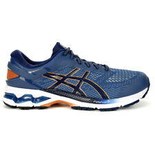 ASICS Men's Gel-Kayano 26 (Extra Wide) Grand Shark/Peacoat Running Shoes 1011...