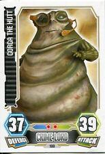 Star Wars Force Attax Series 3 Card #133 Gorga The Hutt