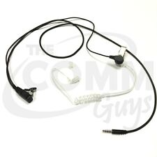 Earphone Earpiece with Tube for Phones with 3.5mm Plug iPhone Galaxy Android