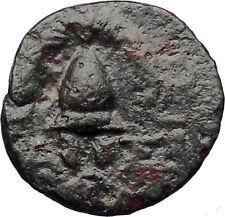 Antigonos II Gonatas Macedon King 277BC Ancient Greek Coin Shield Helmet i30514