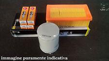 Fiat Panda 750 1000 fire / Uno 1000 1,1 fire - Kit tagliando 2 filtri 4 candele