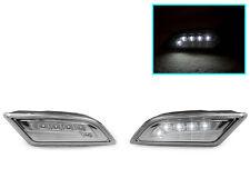 DEPO 2012-14 MERCEDES W204 COUPE/SEDAN WHITE LED CLEAR BUMPER SIDE MARKER LIGHT