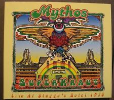 MYTHOS SUPERKRAUT LIVE AT STAGGE'S HOTEL 1976 CD DIGI PACK