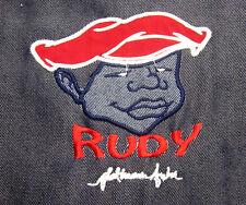 FAT ALBERT Platinum Fubu youth XL denim jacket RUDY throwback Cosby kids sewn