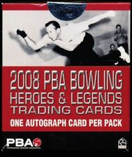 2008 Rittenhouse PBA Heroes & Legends Box (8 Auto's/box)