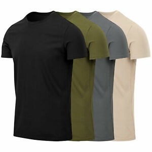 Helikon Tactical Slim Fit Short-Sleeve T-Shirt Cotton Army Military Outdoor S-XL