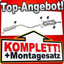 Auspuff PEUGEOT 306 2.0 Cabriolet Auspuffanlage 989