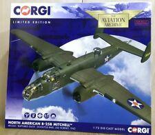 """Corgi AA35312 North American B-25B Mitchell """"Ruptured Duck"""" Ltd Ed 0001 of 2000"""