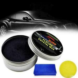 Car Wax Crystal Plating Set Hard Glossy Carnauba Wax Paint Care New Coating UK