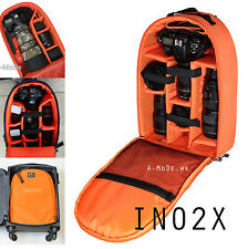 Large Backpack Case Camera insert Bag Waterproo For Nikon Canon padded A-MoDe