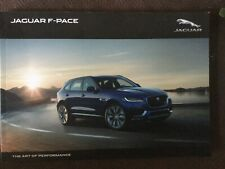 Jaguar F-Pace Brochure 2018 - inc Prestige, Portfolio, R-Sport mint condition