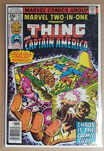 MARVEL _ MARVEL TWO-IN-ONE _ # 42 _ FN- _ 1978 _ CENTS COPY _