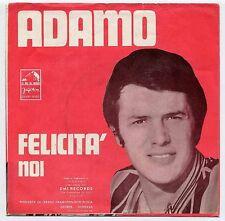 "Salvatore Adamo 7""-Single Felicita - YUGO Jugoton !!!"