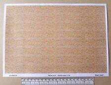 "OO/HO gauge (1:76 scale) ""yellow brick"" -  paper - A4 sheet"