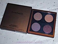 NIB MAC Eyeshadow x 4 Quad ~TEMPERATURE RISING ~ Rare LE Palette