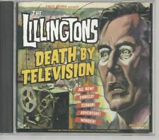 The Lillingtons Death by Television CD Rare Stickers Pins Teenage Bottlerocket !